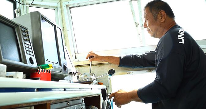 鳴門の海を知り尽くした船長